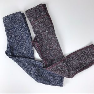 Gap gfast Workout leggings (two pairs) size small.